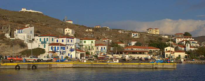 Agios Efstratios, Greece. Source: Christef http://bit.ly/HK636F