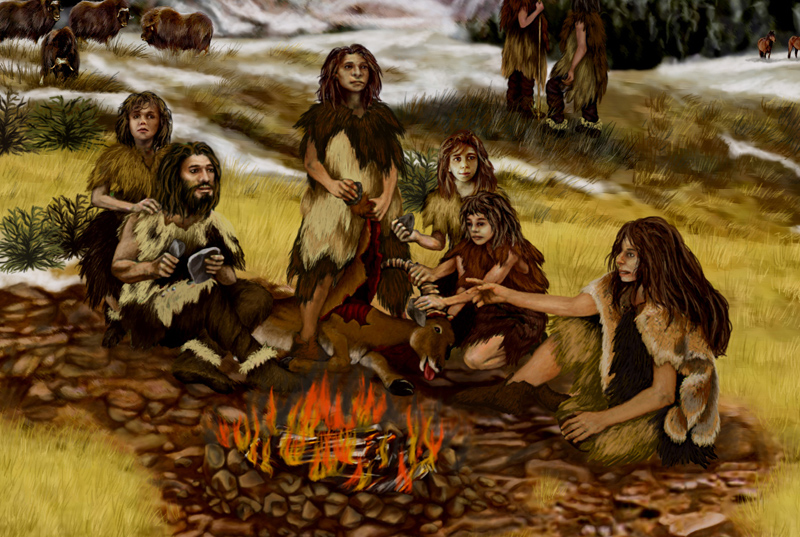 Neanderthal Family