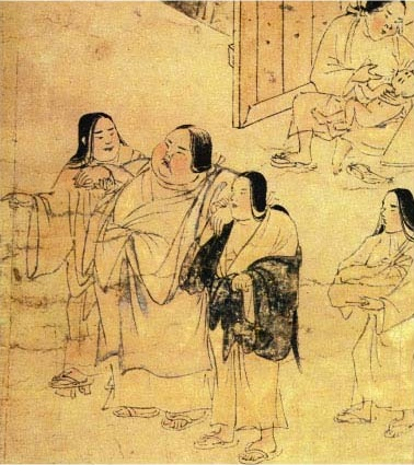 Obesity, 12th century Japan.