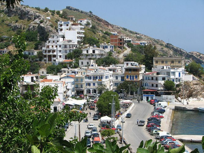 Agios Kirykos, Ikaria, Greece. Source: http://commons.wikimedia.org/wiki/File:Agios_Kirikos,_Ikaria.jpg